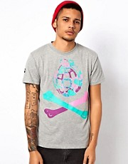 Trainerspotter T-Shirt Exclusive To Asos Hawiian Grenade Bones