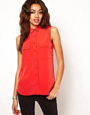 River Island Sleeveless Shirt