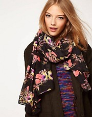 ASOS Bird Print Scarf