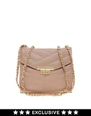 Bolso rectangular guateado exclusivo para ASOS de Oasis