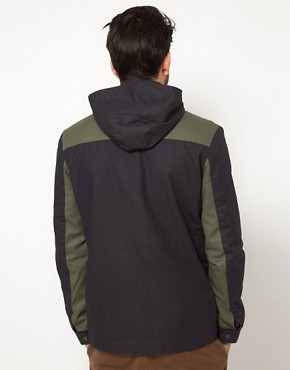 Image 2 ofASOS Anorak Jacket With Removable Hood