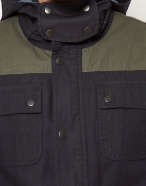 Image 3 ofASOS Anorak Jacket With Removable Hood