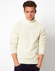 Wolsey Jumper With High Neckline
