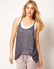 Juicy Couture Stripe Tank Top