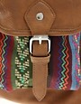 Image 4 ofASOS Aztec Patch Backpack