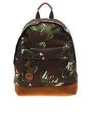 Mi Pac Camo Fern Print Backpack