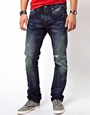 Replay Jeans Laserblast Waitom Regular Slim Dark Aged