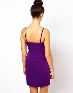 Image 2 ofOasis Pencil Dress With Zip Front