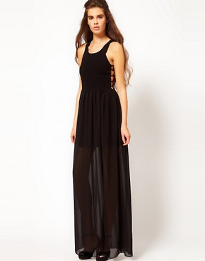 Image 1 ofKeepsake My Way Home Maxi Dress
