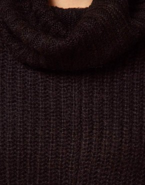 Image 3 ofVila Roll Neck Knit Slouchy Jumper