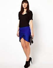 Improvd Asymmetric Draped Skirt