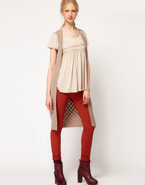 Image 1 ofAndersen &amp; Lauth Longline Sleeveless Cardigan