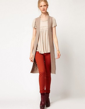 Image 4 ofAndersen &amp; Lauth Longline Sleeveless Cardigan