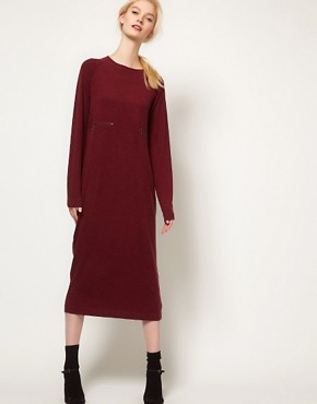 Image 1 ofBACK by Ann-Sofie Back Zip Long Sleeve Dress