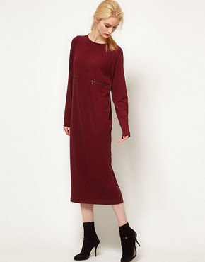 Image 4 ofBACK by Ann-Sofie Back Zip Long Sleeve Dress