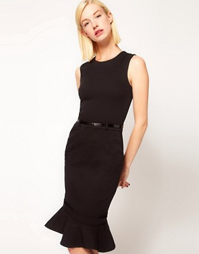 Image 1 of Preen Line Danna Dress with Fluted Hem
