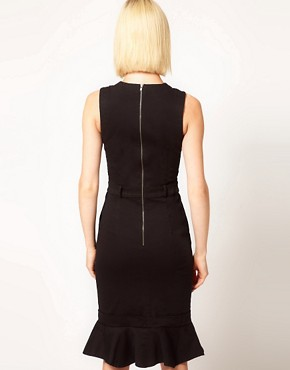 Image 2 of Preen Line Danna Dress with Fluted Hem