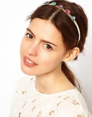 ASOS Gem Brooch Hair Band