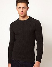 ASOS Ribbed Crew Jumper