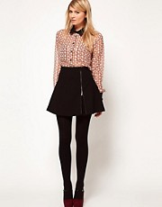 ASOS Mini Skirt With Zip Detail