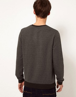 Image 2 ofASOS Sweatshirt With A Print