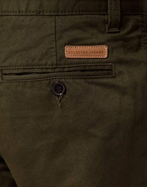 Image 3 ofSelected Slim Chinos