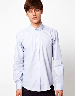 Image 1 ofSelected Shirt with Penny Collar