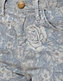 Image 3 ofCurrent/Elliott  High Waist Floral Skinny Jeans