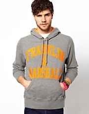Franklin &amp; Marshall Hoody with Logo Print
