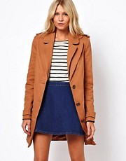 ASOS Double Collar Duster Coat