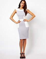 Vesper Pencil Dress in Color Block