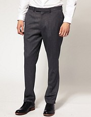 Lambretta Fashion Fit Tipped Lapel Trousers