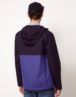Image 2 ofASOS Anorak Jacket With Colour Block