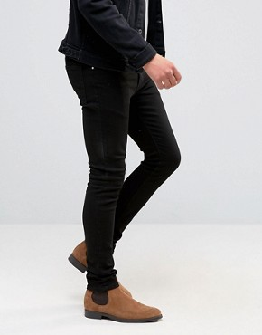 Image 2 ofASOS Super Skinny Black Jean