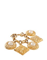Susan Caplan Vintage Escada &#39;80s Charm Bracelet
