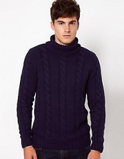 Selected Roll Neck Jumper