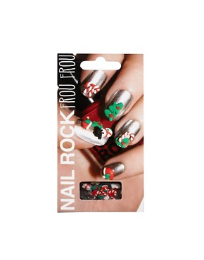 Image 1 ofNail Rock Frou Frou 3D Nail Apps - Holiday