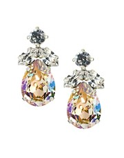 Krystal Swarovski Diamonte Tear Drop Earrings