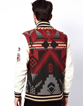 Image 2 ofTrue Religion Sweat Jacket Native Fleece