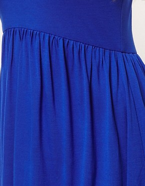 Image 3 of ASOS Babydoll Dress with Skater Skirt