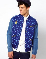 Vivienne Westwood Anglomania for Lee Sweat Jacket Star Print
