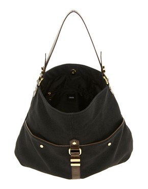 Image 2 ofASOS Metal Keeper Hobo Bag