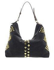 ASOS Studded Hobo Bag