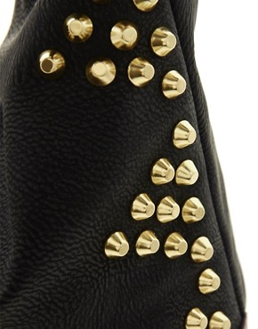 Image 4 ofASOS Studded Hobo Bag