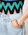 Image 3 ofASOS Jewelled Spike Bracelet