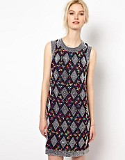 YMC Rainbow Beaded Dress