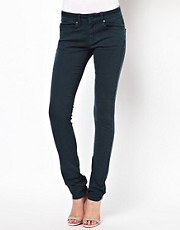 ASOS Skinny Jeans in Pine Green