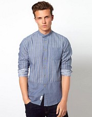 Wolsey Shirt With Grandad Collar