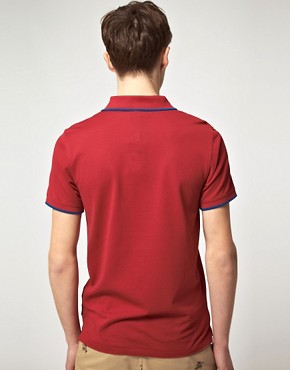 Image 2 ofPaul Smith Paul Smith Jeans Pique Slim Fit Polo