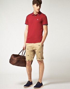 Image 4 ofPaul Smith Paul Smith Jeans Pique Slim Fit Polo